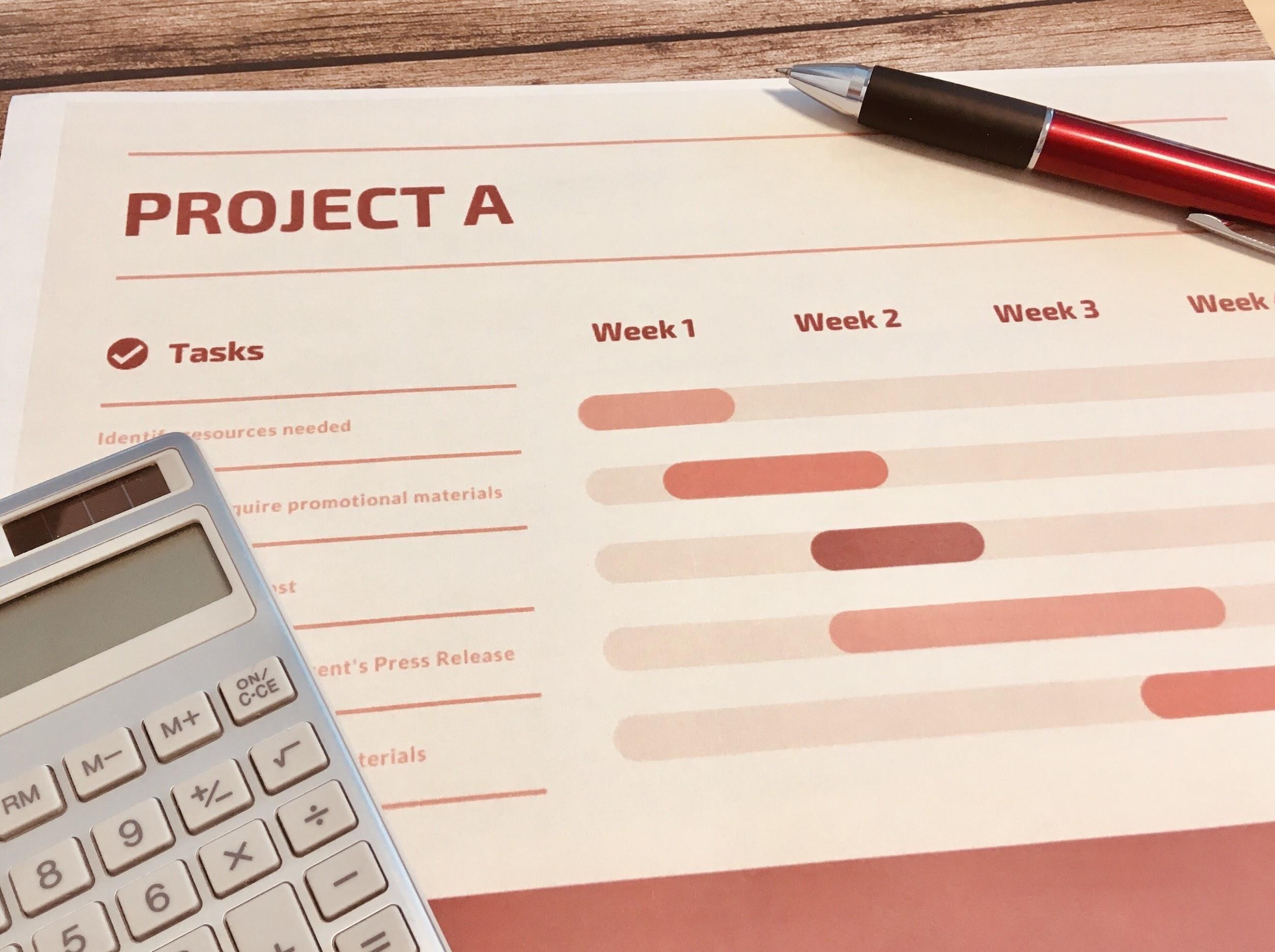 長期の収支計画を立ててくれるか