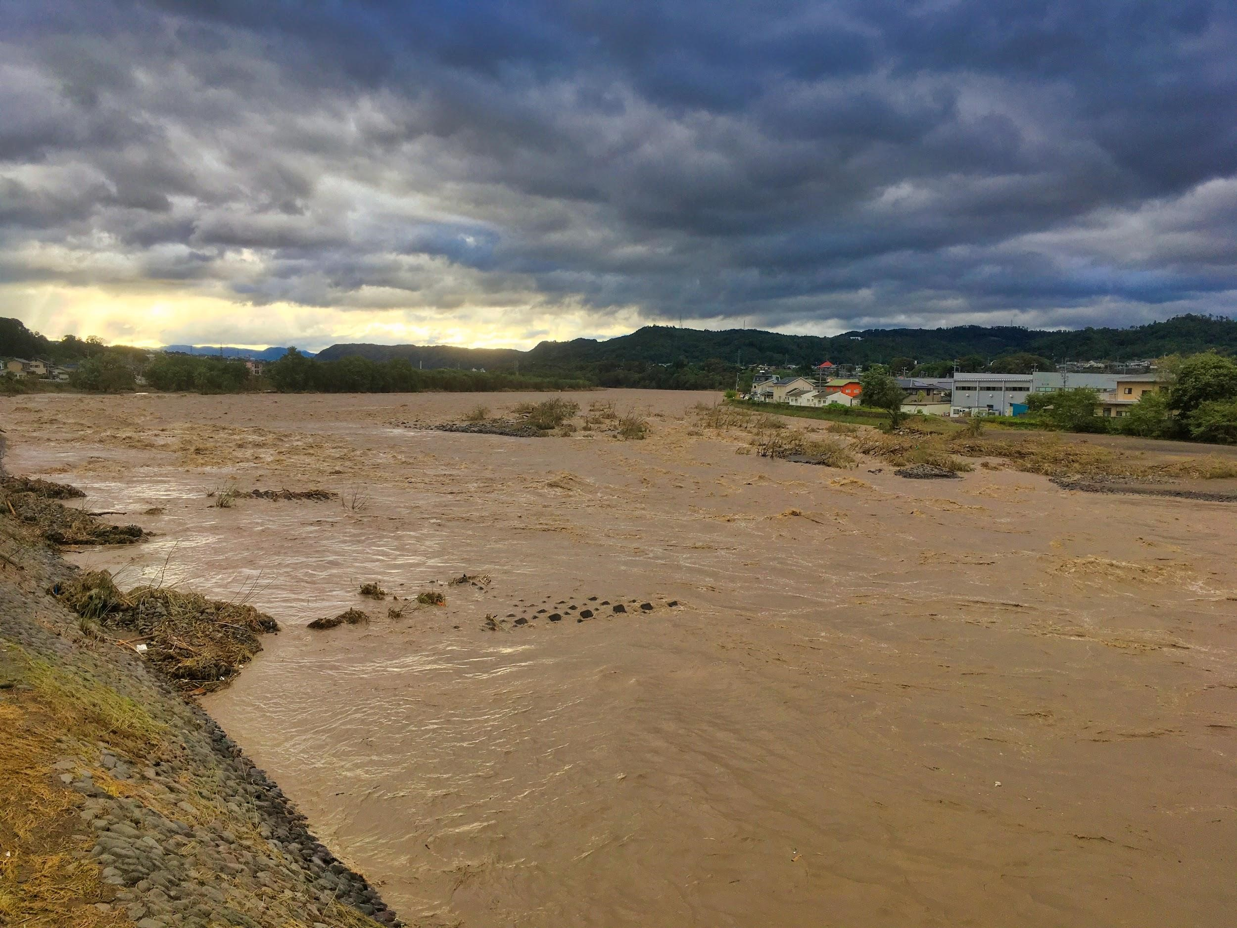 急増する水災被害