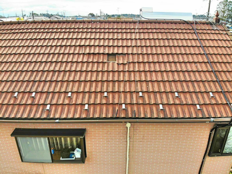 台風の屋根被害